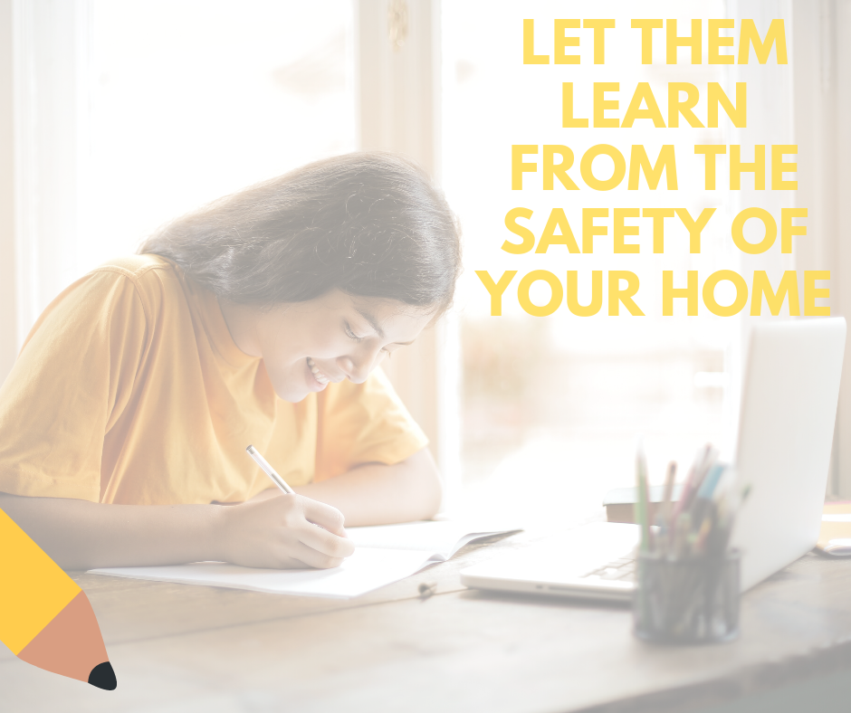 Generic Ad - Let them Learn from the safety of your home 2