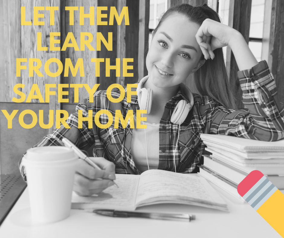 Generic Ad - Let them Learn from the safety of your home 3