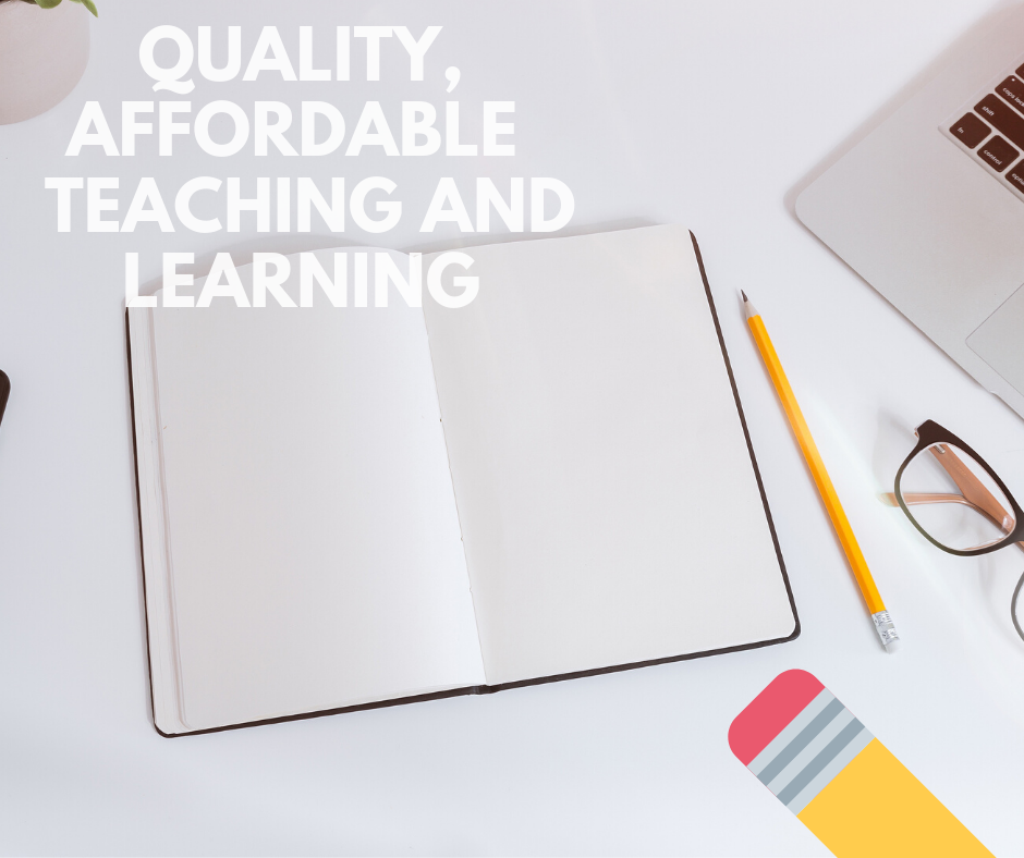 Generic Ad - Quality and Affordable Teaching and Learning 2